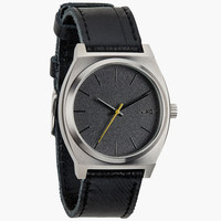 Nixon The Time Teller Watch Black Tape One Size For Men 24408510001
