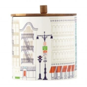 kate spade new york About Town Canister Large 16.5cm (Wide)