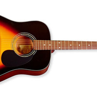 Zager EZ Play ZAD20E Sunburst  Acoustic Electric Guitar