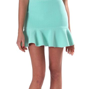 Delightful Mini Skirt - Mint