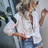 Goddess Lace Blouse