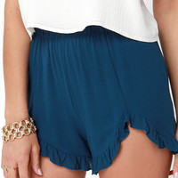 She's All That Navy Blue Shorts