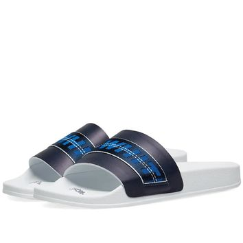 Blue & White Slides by OFF-WHITE