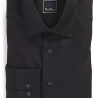 Men's David Donahue Regular Fit Royal Oxford Dress Shirt