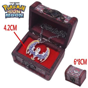 Pokemon Anime Lunala Sun Moon Necklace Accessories Collection