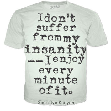 Shirt with quote