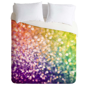 Lisa Argyropoulos Whirlwind Bokeh Duvet Cover