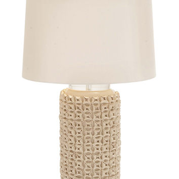 The Lovely Ceramic Acrylic Table Lamp