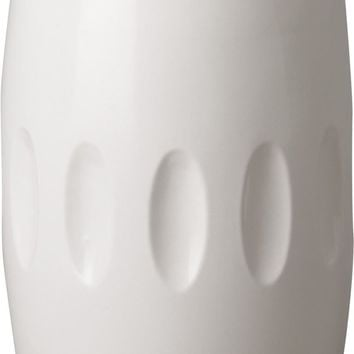 Tall Orion Vase With A White Glaze