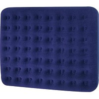 """80"""" Navy Blue King Sized Indoor/Outdoor Inflatable Guest Air Bed Mattress"""