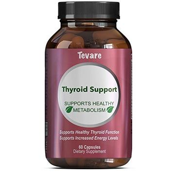 Thyroid Support Supplement - Pure And Potent Weight Control And Weight Loss Pills - With Kelp + Bladderwrack +...