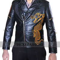 Suicide Squad Waylon Jones Killer Croc Jacket