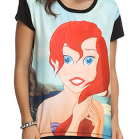 Disney The Little Mermaid Ariel Charmeuse Top