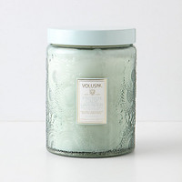 Voluspa Cut Glass Jar