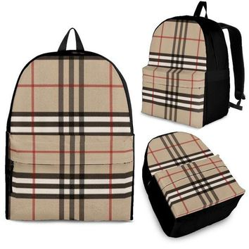 VONEE4C Backpack Inspired by Burberry
