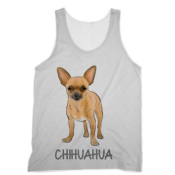 Chihuahua with Text Designs by Amitie Sublimation Vest