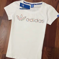 Adidas Women Pure Cotton Short sleeves T-shirt