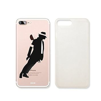 Michael Jackson Slim Iphone 7 Case, Clear Iphone Hard Cover Case For Apple Iphone 7 Emerishop (iphone 7)