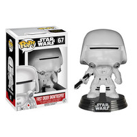 First Order Snowtrooper Pop Star Wars Force Awakens Vinyl Figure