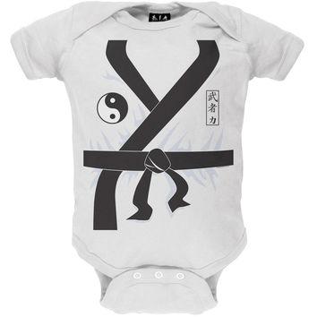 Halloween Karate Kid Costume Baby One Piece