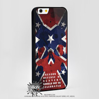 Southern Pride Rebel Flag Skull For Apple, Iphone, Ipod, Samsung Galaxy Case
