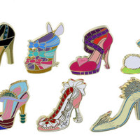 Disney Divas Shoes Mini-Pin Set