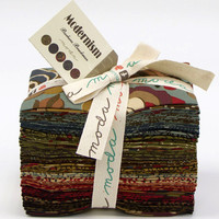 Modernism by Barbara Brackman, Fat Eighths Bundle,  Moda Fabrics