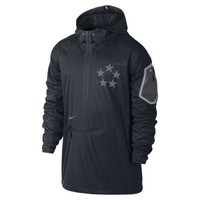 Nike Field General Fly Rush Hooded Men's Football Jacket - Black