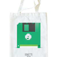 Pixelate - Diskette by Amanda Leung