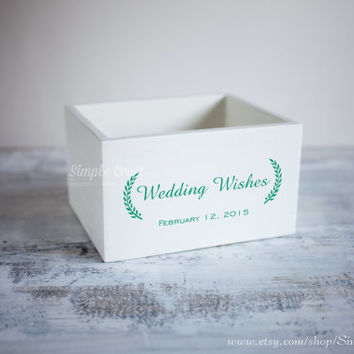Wedding invitation box wedding wishes cards box advice for new parents bridal shower advice cards bridal shower gift for the bride baby box
