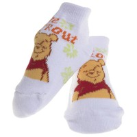 Winnie The Pooh - Little Sprout White Baby Socks