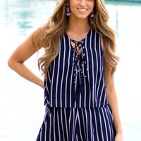 To The Point Romper | Monday Dress