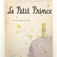 Le Petit Prince by Antoine de Saint-Exupery 1967 printing — Wary Meyers