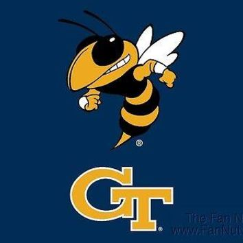 "Georgia Tech Yellow Jackets GT RR 5""x6"" Vinyl Magnet Auto Home University of"