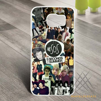 5 Seconds Of Summer Collage Custom case for Samsung Galaxy