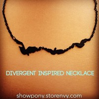 Divergent Inspired Bird Necklace Ships From USA from SHOW PONY