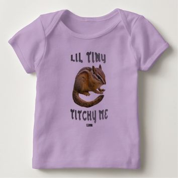 Lil Tiny Baby Design by Kat Worth Baby T-Shirt