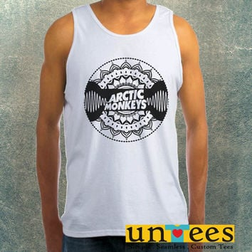 Arctic Monkeys Mandala Clothing Tank Top For Mens