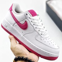 Trendsetter Nike Air Force 1'07 Virgil  Women Men Fashion Casual Old Skool Shoes