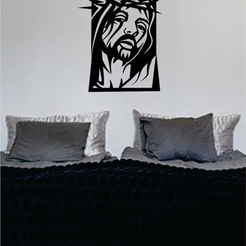 Jesus Christ Design Religious Decal Sticker Wall Vinyl Art Home Room Decor