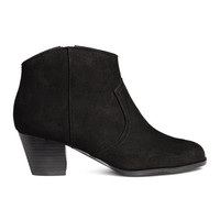 H&M Ankle Boots $24.99