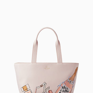 wedding belles bridesmaid tote | Kate Spade New York