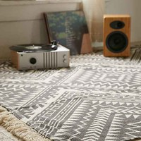 Magical Thinking Tonal Diamond Printed Rug