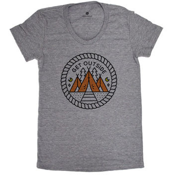 Get Outside - Womens TriGrey