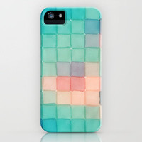 Polaroid Pixels VI (Crabapple) iPhone Case by Sarajea | Society6