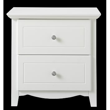 Paris Bedside Table (2 drawer)
