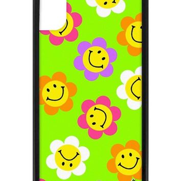 Smiley Flowers iPhone X Case
