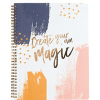 Create Your Own Magic Spiral Notebook