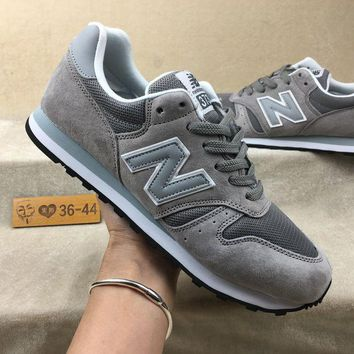 ONETOW cxon new balance nb373 cushion classic style grey white for women men running sport casual shoes sneakers
