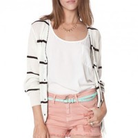 Gondola Striped Cardigan - ShopSosie.com